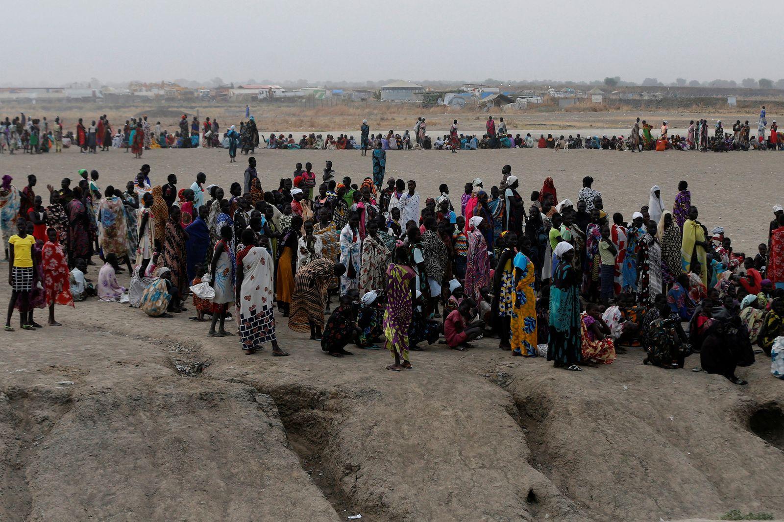 Südsudan / Bentiu / Hungersnot