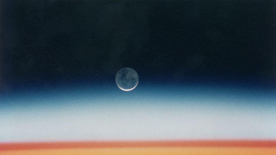 Nasa-Aufnahme der Atmosphäre in rund 350 Kilometer Höhe