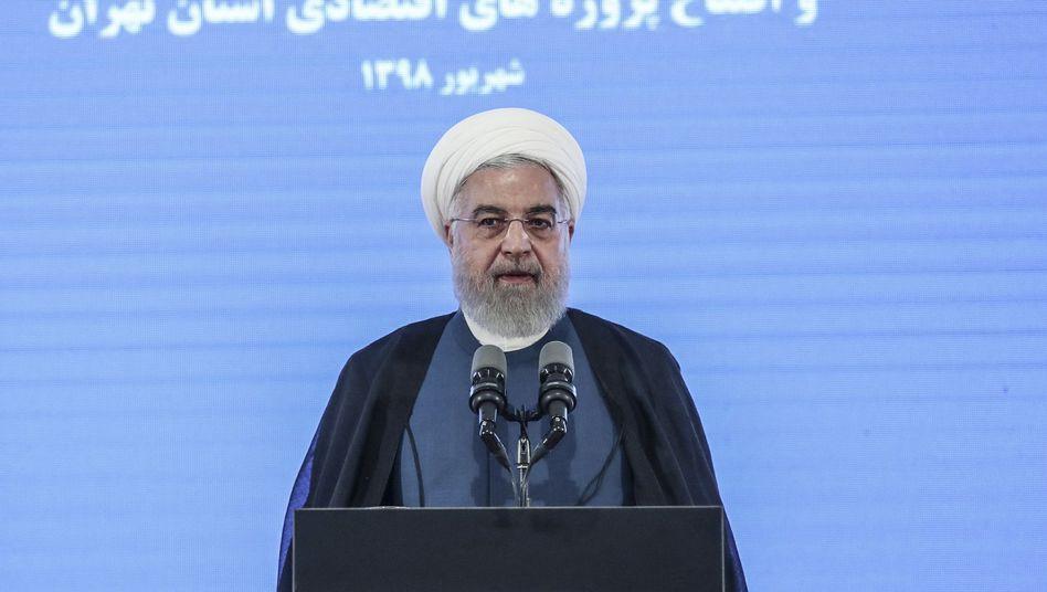 Präsident Hassan Rohani