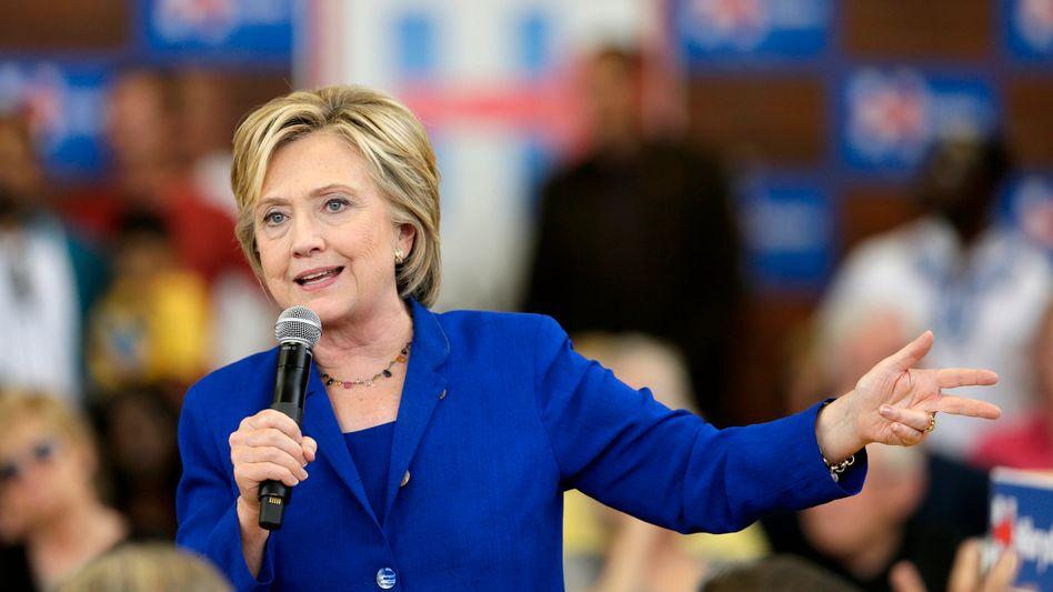 """Präsidentschaftsbewerberin Clinton: """"Ich lehne das Projekt ab"""""""