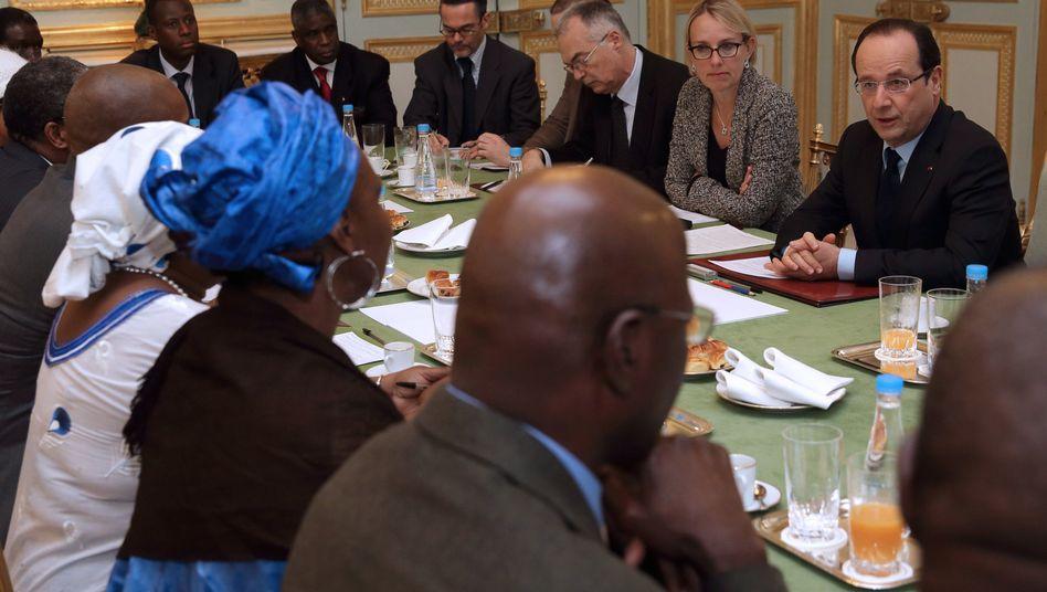 Einsatz in Mali: Briten und Amerikaner helfen - ein bisschen