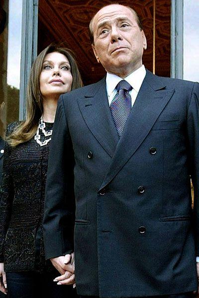 Silvio Berlusconi und Frau Veronica: Schwäche für Obama
