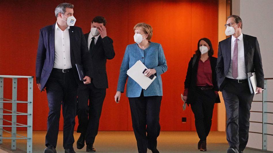Merkel berät mit den Ministerpräsidenten: Die nächste MPK soll am 10. August stattfinden