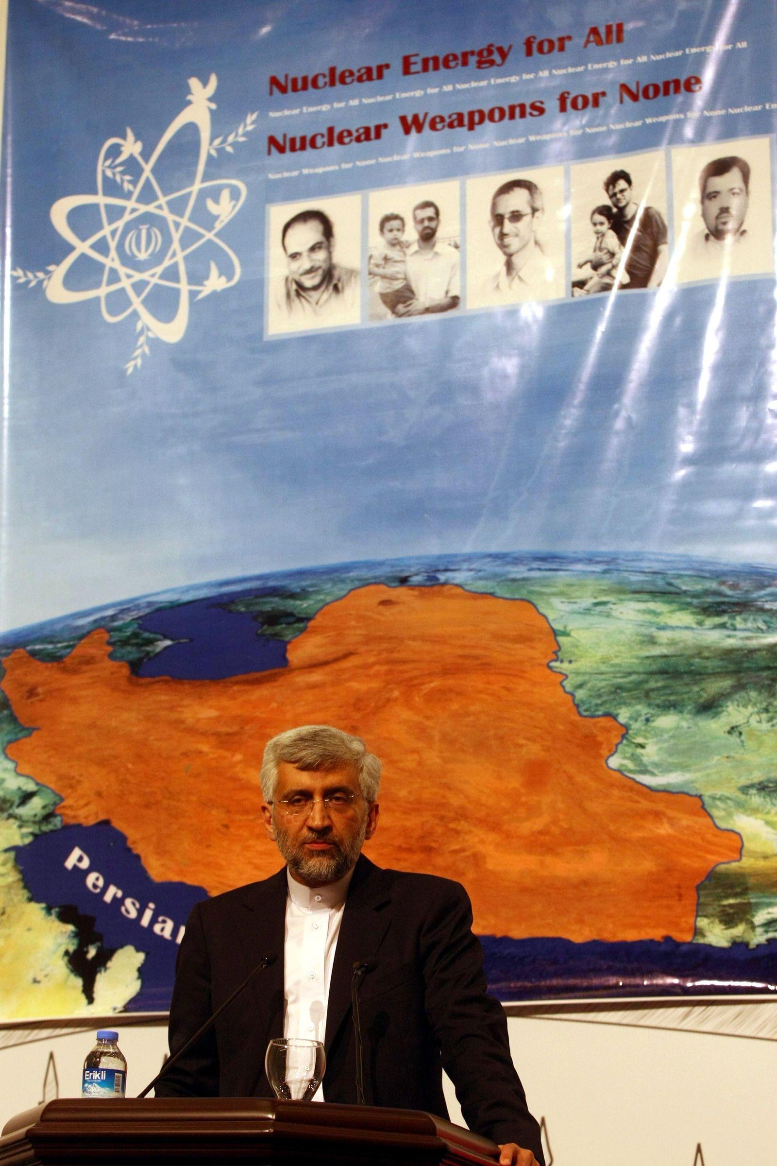 Jalili bei Atomgesprächen mit Iran