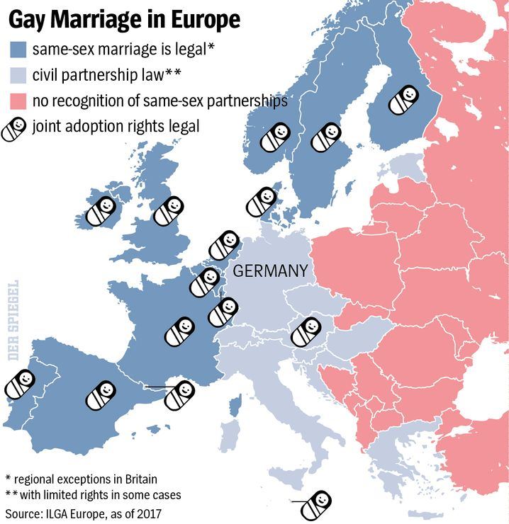 Graphic: Gay marriage in Europe