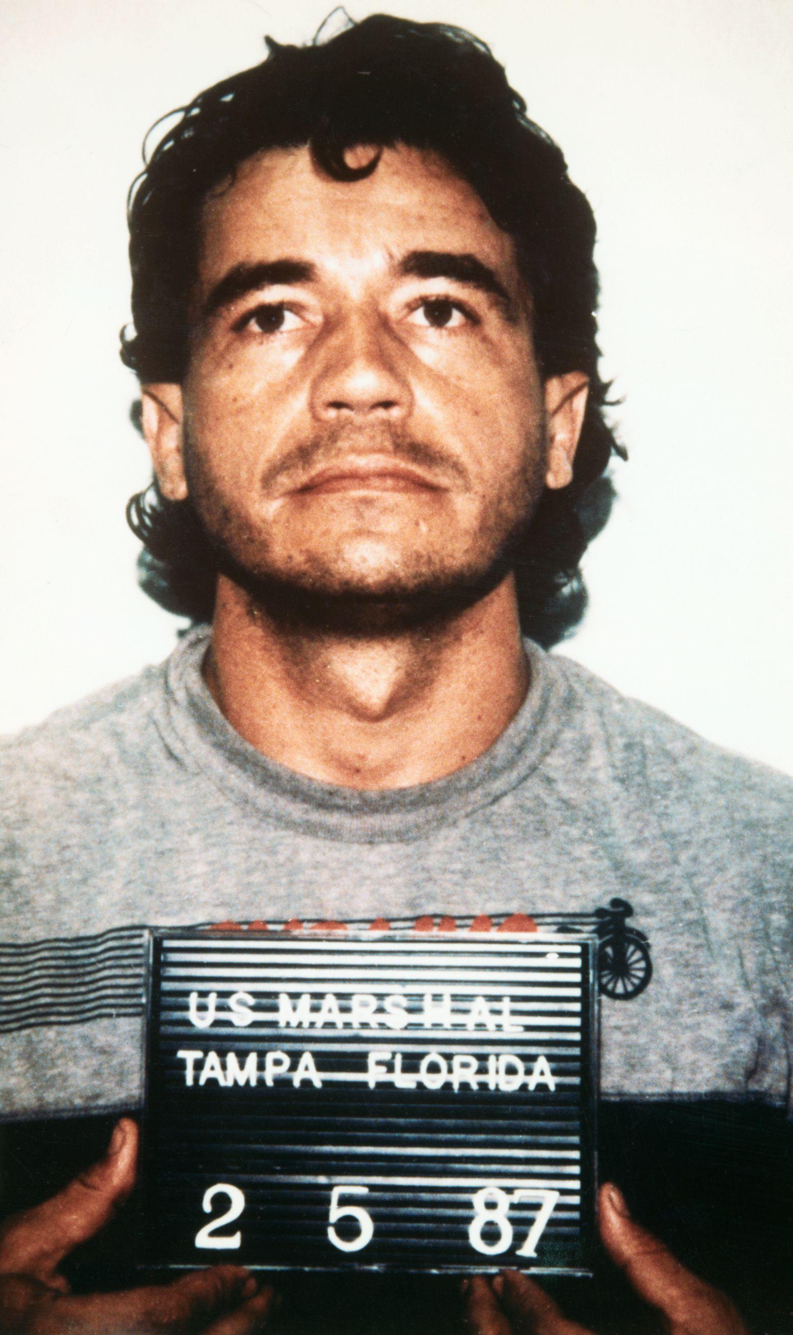 Portrait of Enrique Lehder Rivas