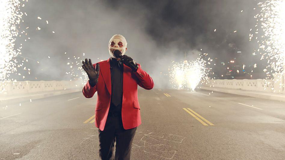 The Weeknd bei den American Music Awards im November: Der »Joker« trifft den »Unsichtbaren«