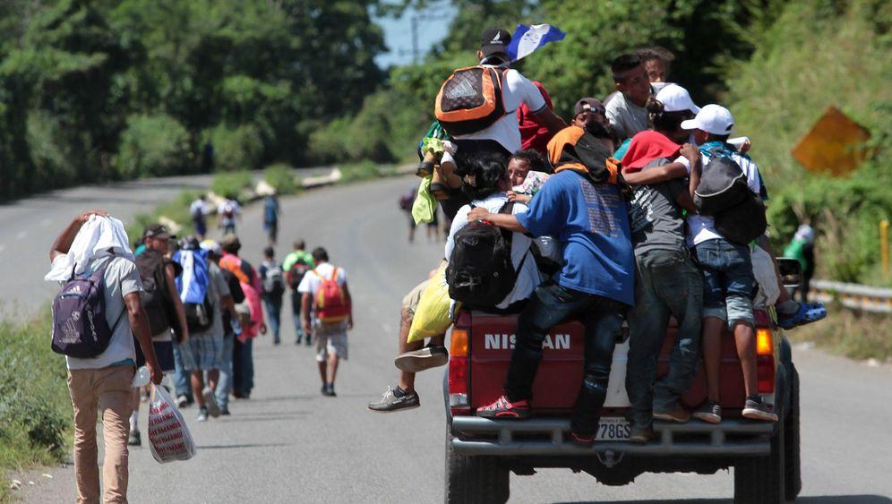 Flucht aus Mittelamerika: Immer in Richtung Norden