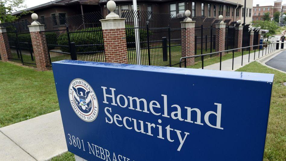 Ministerium für Innere Sicherheit der Vereinigten Staaten