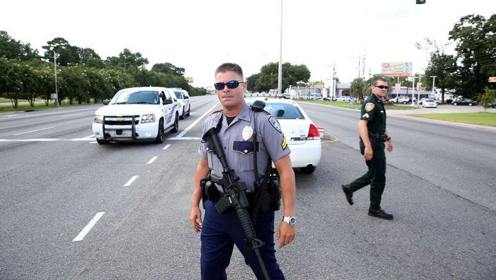 Baton Rouge: Schütze tötet mehrere Polizisten