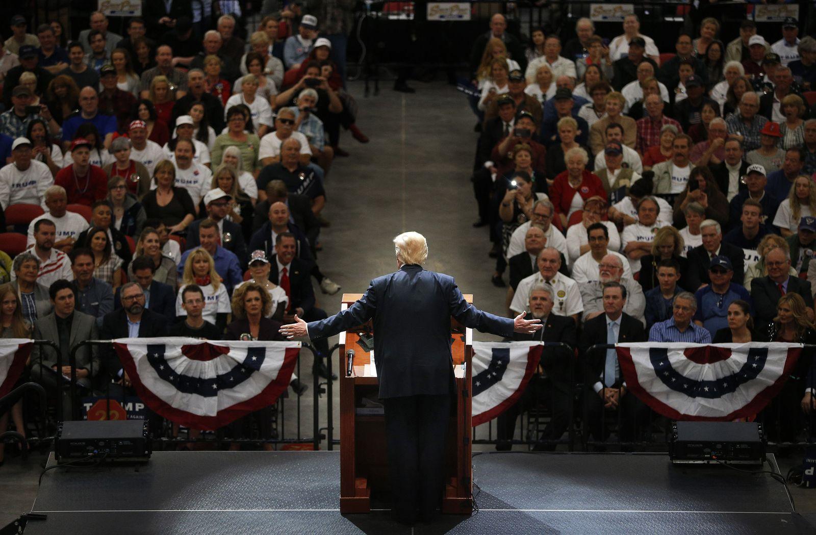 Trump / Wahlkampf