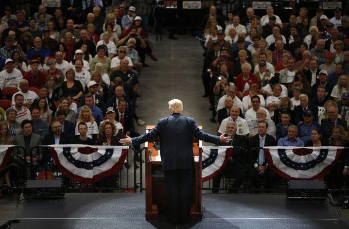 Trump im Wahlkampf 2016