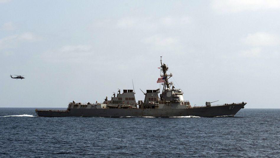 "Zerstörer ""USS Mason"" (Archivbild)"