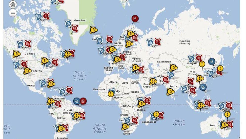 Spiegel Online Startet Interaktive Weltkarte Mit Hunderten