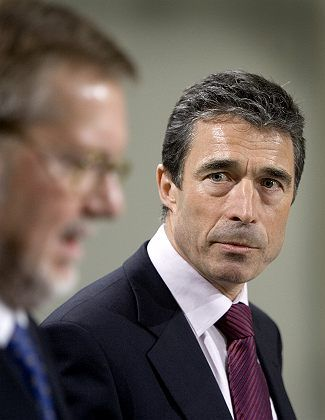Danish Prime Minister Anders Fogh Rasmussen says Denmark remains committed to wind power.