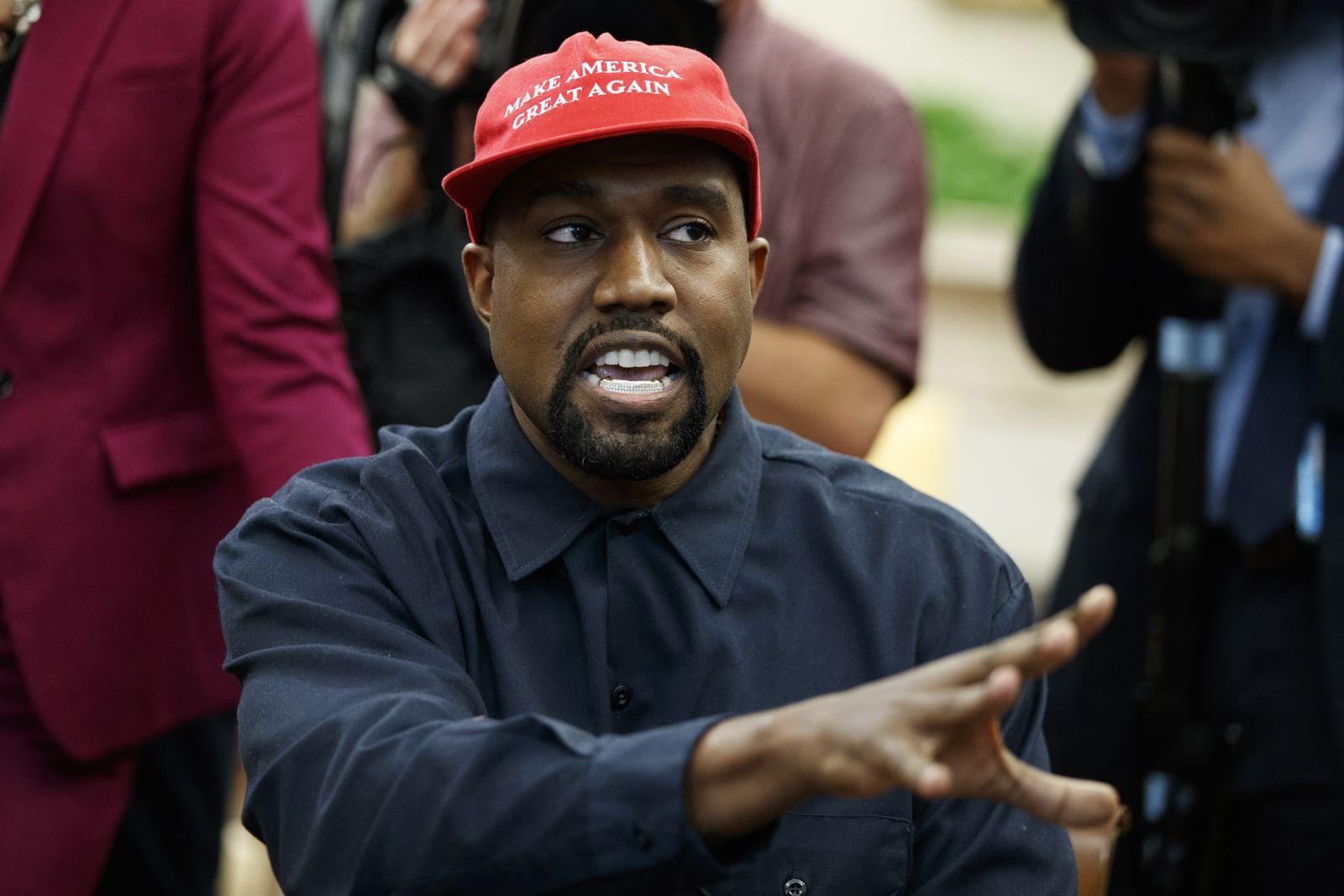 US-Präsident Trump trifft Kanye West