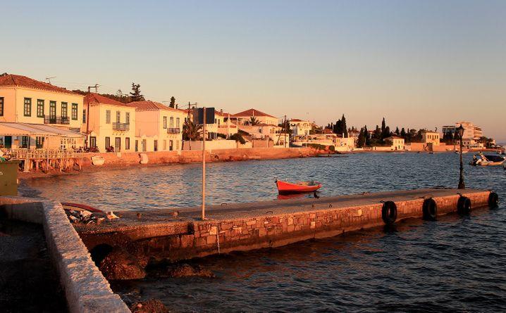 Griechische Insel Spetses: Hoffen auf 2015