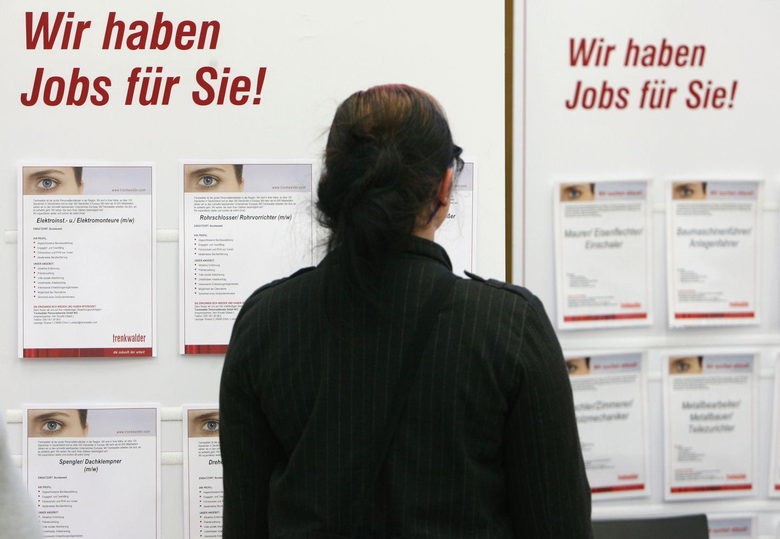 Zeitarbeitsmesse / Jobsuche