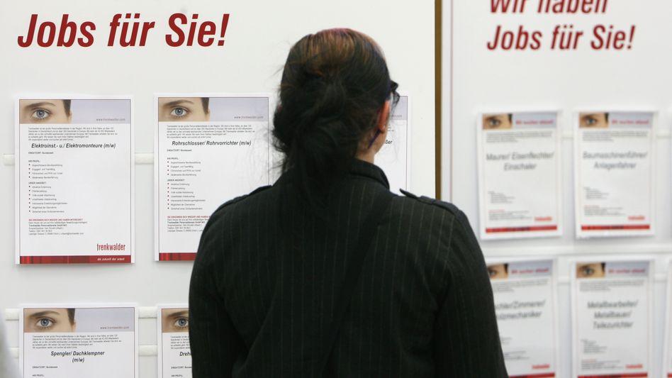 Jobsuche auf Zeitarbeitsmesse: Arbeitgeber sind von dem Modell begeistert