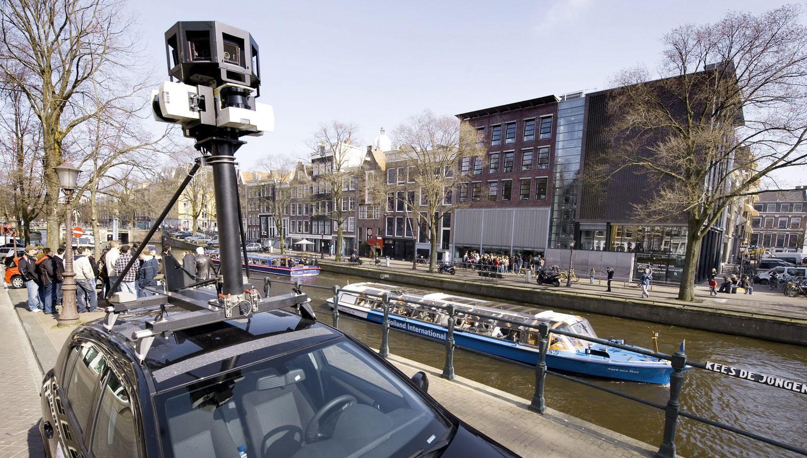 NETHERLANDS-GOOGLE-STREET VIEW