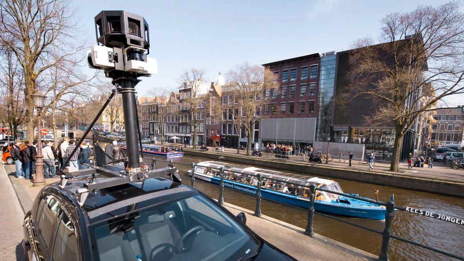 Street-View-Auto (in Amsterdam): Sammeln von W-Lan-Daten weltweit gestoppt