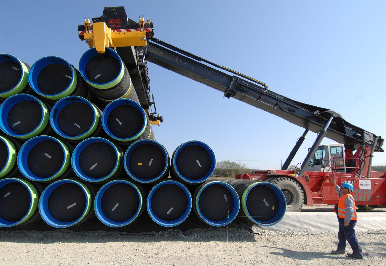 Themenpaket Ostseepipeline Nord Stream