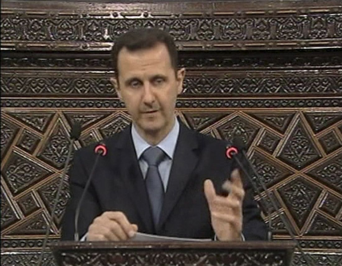 Assad/ TV-Ansprache