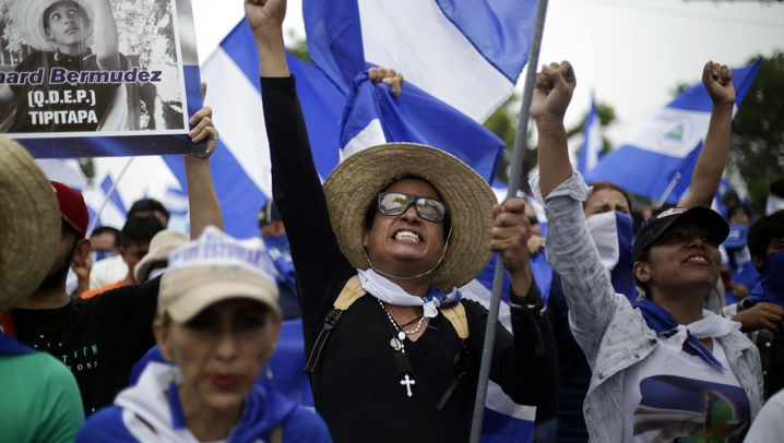 Nicaragua: Ortega steuert das Land in den Bürgerkrieg
