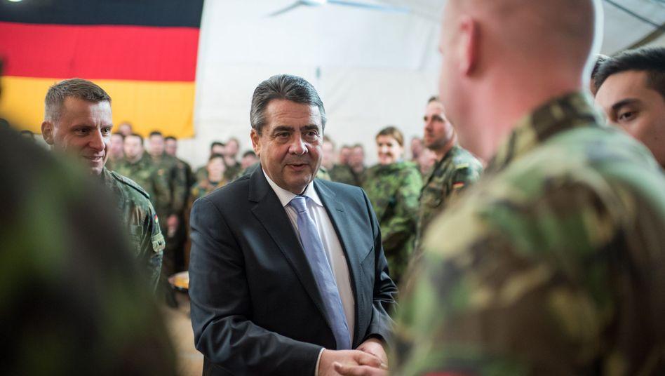 Außenminister Gabriel in Litauen