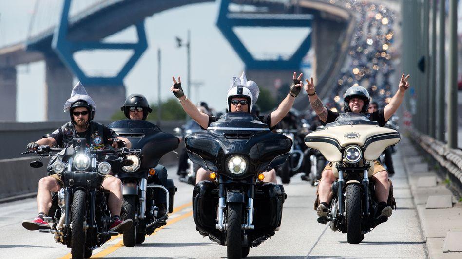 Harley-Fahrer