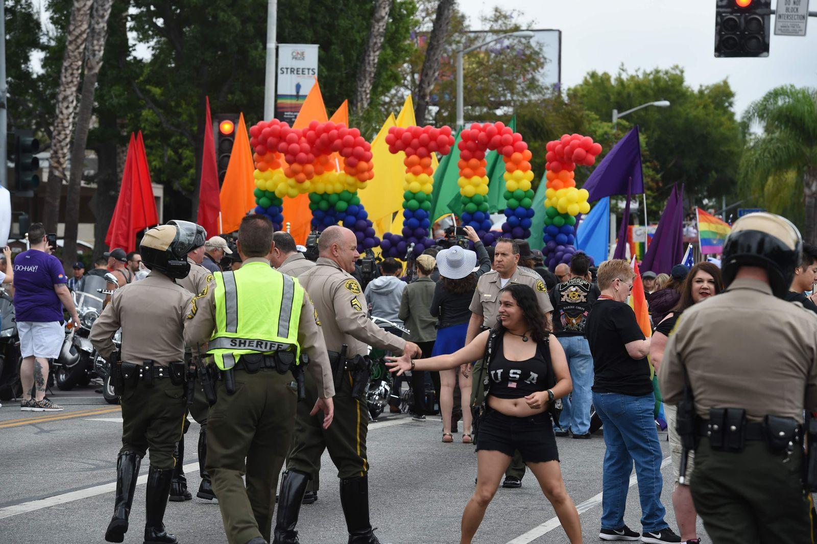 Massaker in Orlando: Gay Pride in Los Angeles