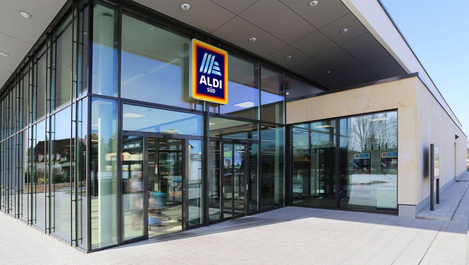 Aldi-Supermarkt