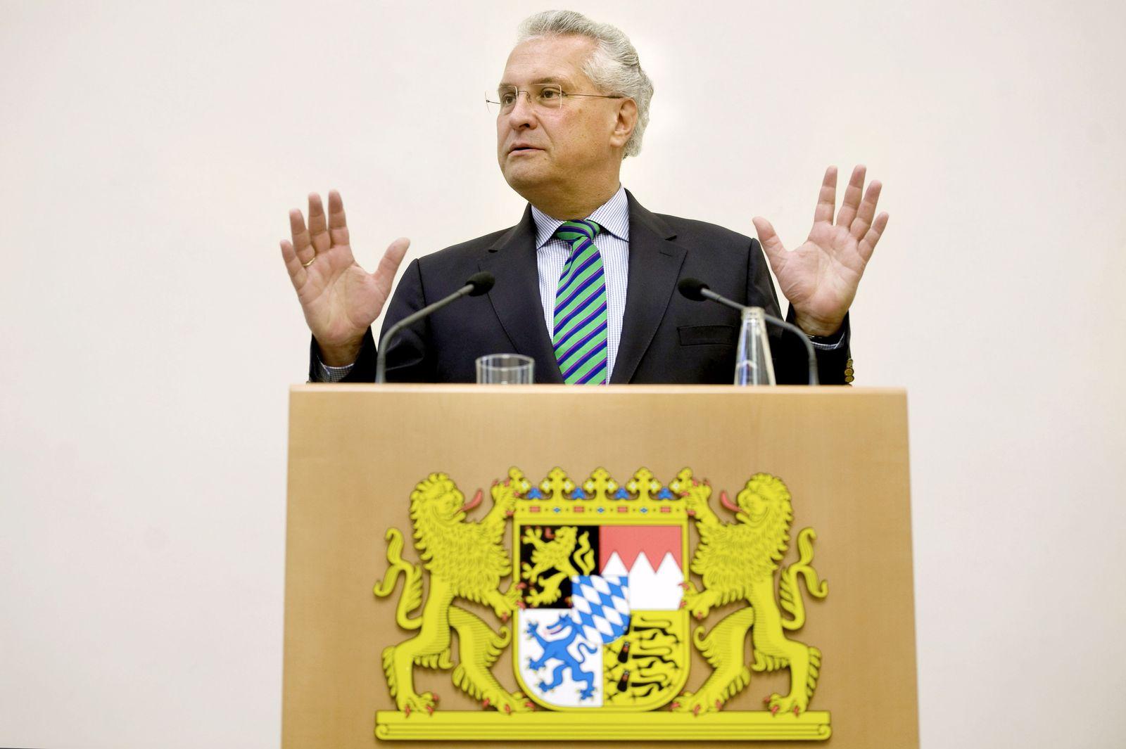 NICHT VERWENDEN Bayerns Innenminister Joachim Herrmann