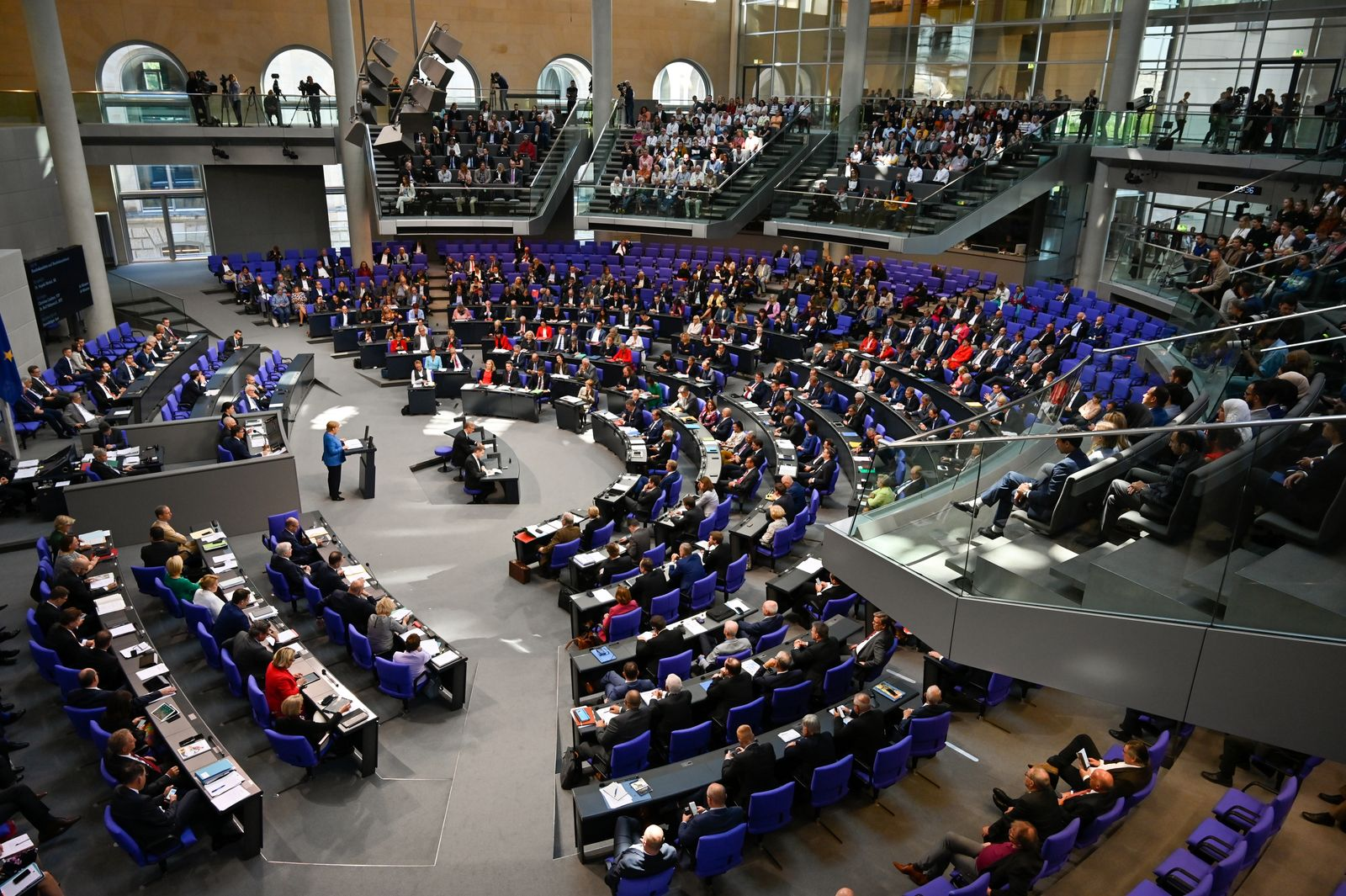 GERMANY-POLITICS-PARLIAMENT-BUDGET