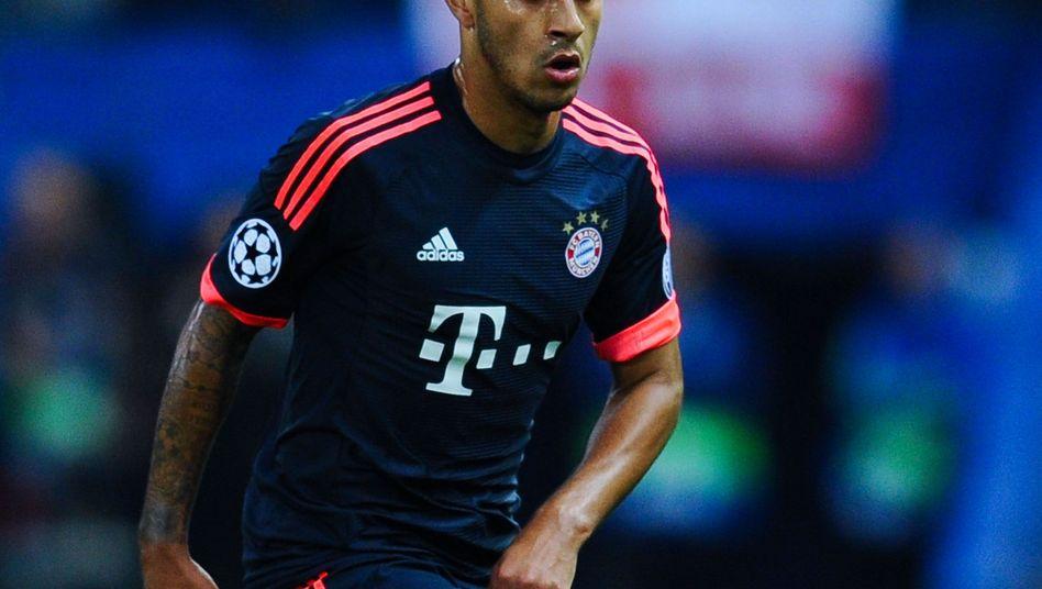 Thiago Alcántara vom FC Bayern München