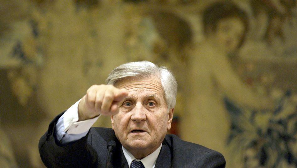 EZB-Präsident Jean-Claude Trichet: Zinserhöhung wohl erst zum Jahresende