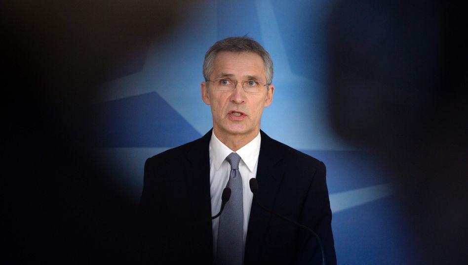 Nato-Generalsekretär Stoltenberg: Keine permanente Stationierung von Kampftruppen