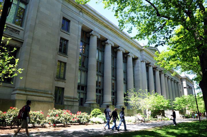 Campus der Harvard University