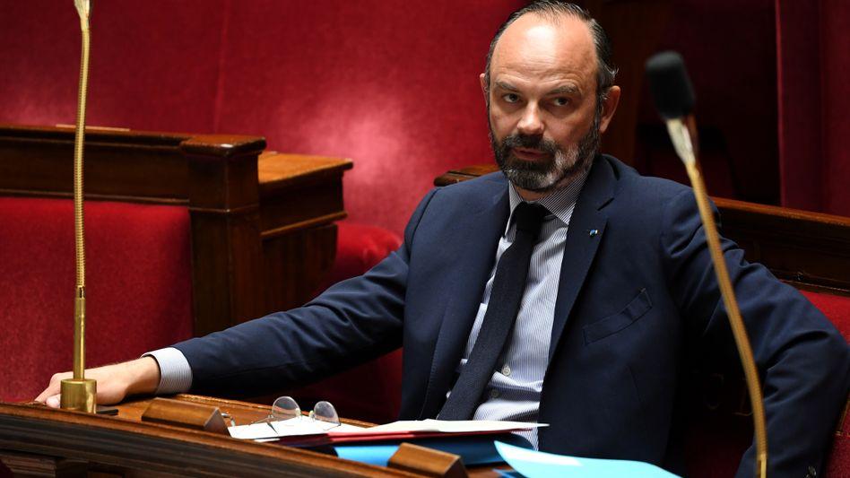 Édouard Philippe: Diskussion möglicher Lockerungen am Dienstag