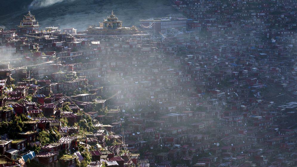 Larung Gar: Gefahr für die buddhistische Stadt