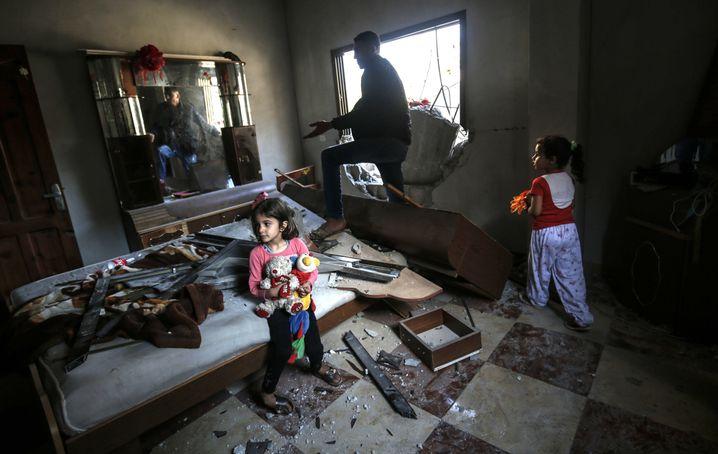 Folgen eines israelischen Angriffs in Rafah, Gazastreifen (Foto vom 5. Mai)