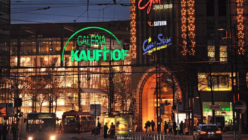 Galeria Kaufhof in Chemnitz