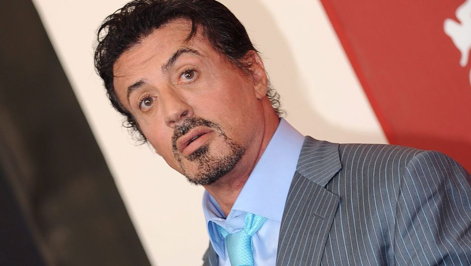 US action hero Sylvester Stallone.