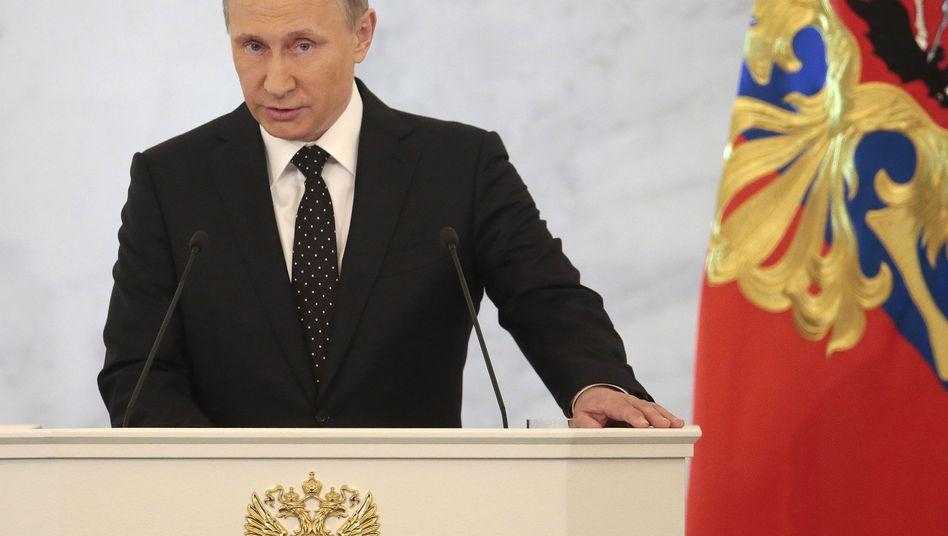 Wladimir Putin: Bedrohungen unverzüglich vernichten