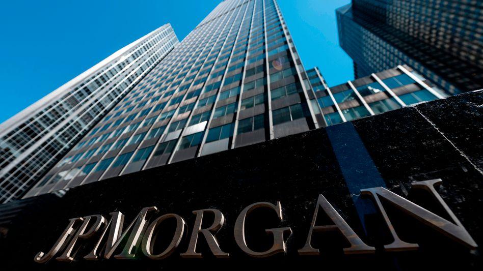 Das Hauptquartier von JPMorgan in New York