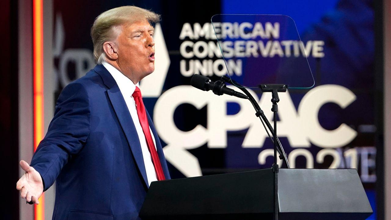 Rede des Ex-US-Präsidenten: Trump will den Republikanern treu bleiben - DER SPIEGEL