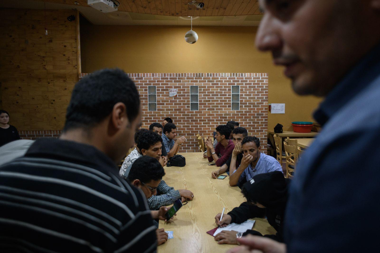 Suedkorea/ Jemen/ Fluechtlinge