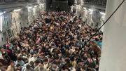 US-Luftwaffe fliegt 640 Afghanen aus – in einem einzigen Flugzeug