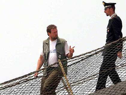 """""""Cap Anamur""""-Chef Bierdel verlässt das Schiff"""
