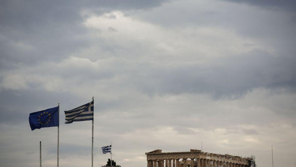 Pantheon in Athen